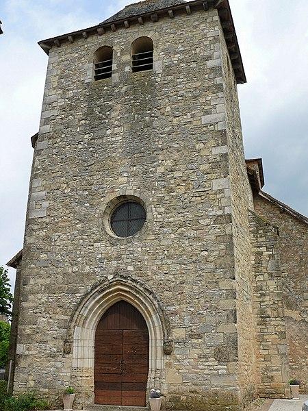 Photo du Monument Historique Eglise Saint-Roch situé à Thédirac