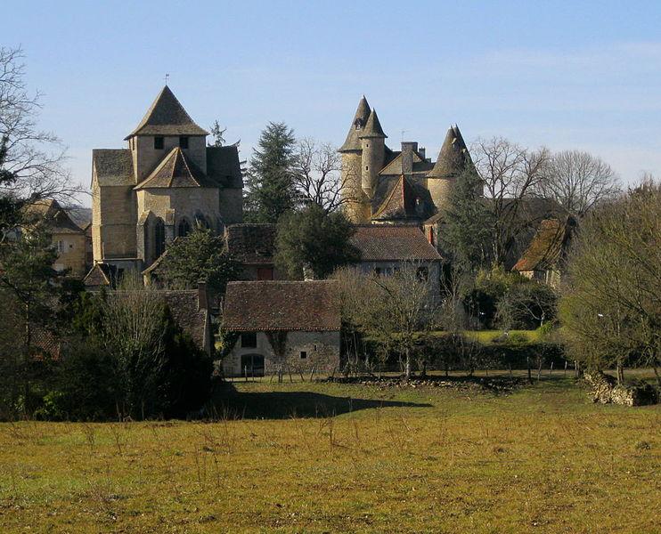 Photo du Monument Historique Château situé à Thégra
