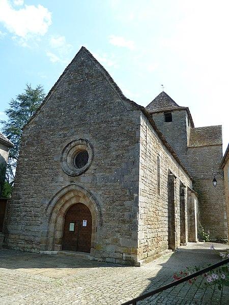 Photo du Monument Historique Eglise et sa crypte situé à Thégra