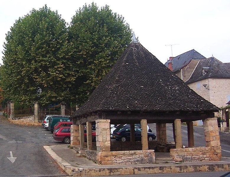 Photo du Monument Historique Ancienne halle situé à Thémines