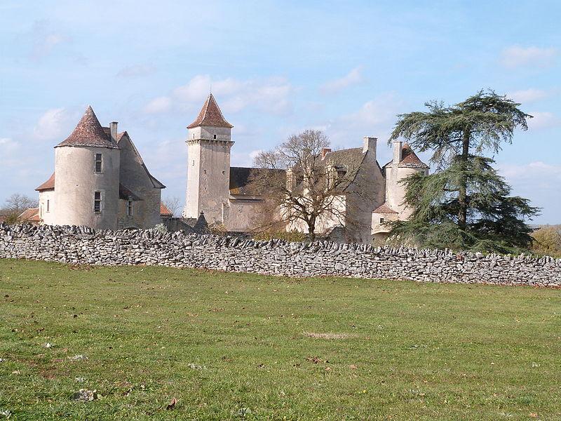 Photo du Monument Historique Château de Couanac situé à Varaire