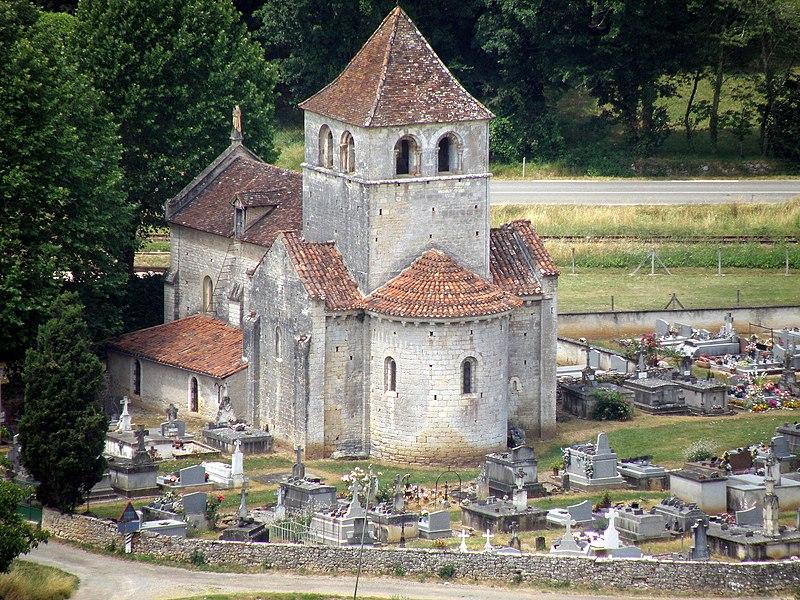 Photo du Monument Historique Eglise Notre-Dame-de-Vêles situé à Vers