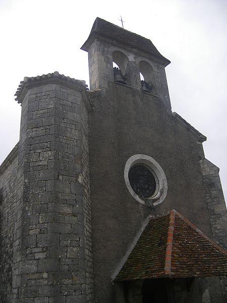 Photo du Monument Historique Eglise situé à Villesèque