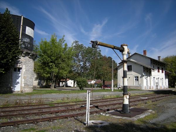 Photo du Monument Historique Gare situé à Cajarc