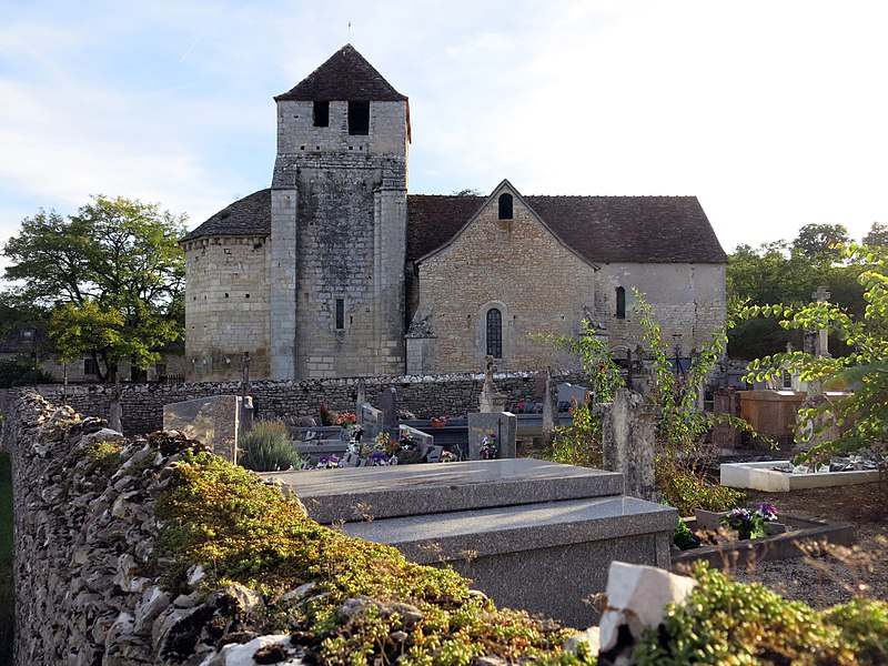 Photo du Monument Historique Eglise de Murel situé à Martel