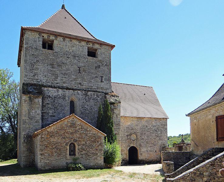 Photo du Monument Historique Eglise de Luziers situé à Salviac