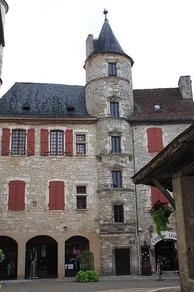 Photo du Monument Historique Ancien hôtel Fabri situé à Martel