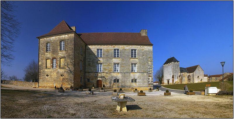 Photo du Monument Historique Château situé à Lavercantière