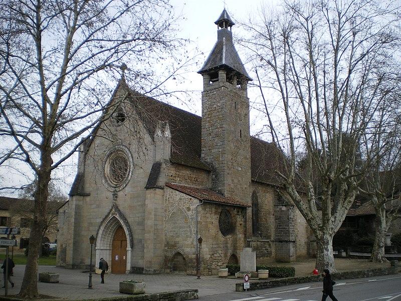 Photo du Monument Historique Eglise des Carmes ou église Saint-Thomas-Becket situé à Figeac