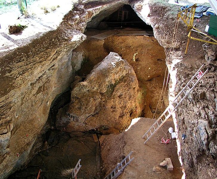 Photo du Monument Historique Gisement préhistorique des Fieux situé à Miers