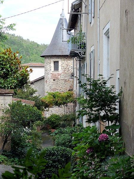 Photo du Monument Historique Maison médiévale situé à Cahors