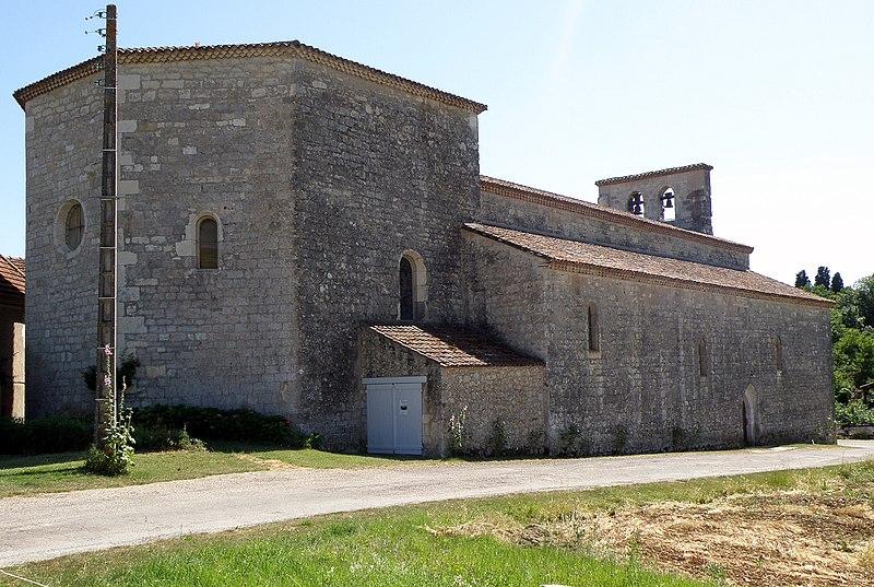 Photo du Monument Historique Eglise Saint-Aignan dite Eglise Grande situé à Bélaye