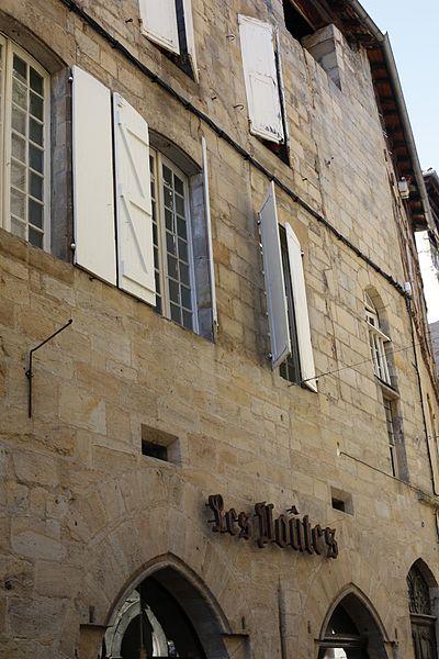 Photo du Monument Historique Maison médiévale situé à Figeac