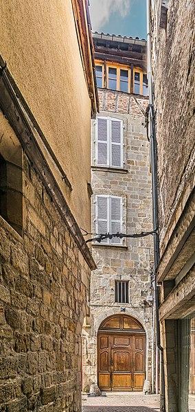 Photo du Monument Historique Demeure situé à Figeac