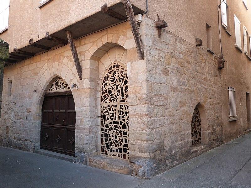 Photo du Monument Historique Maison gothique situé à Figeac
