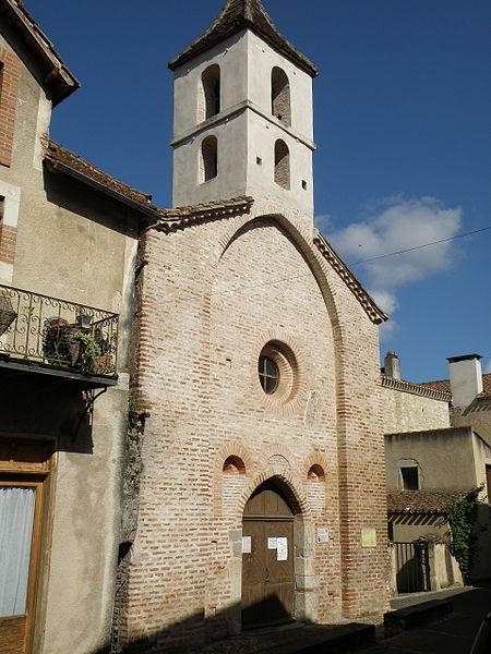 Photo du Monument Historique Chapelle Saint-Jacques dite des Pénitents Bleus situé à Luzech