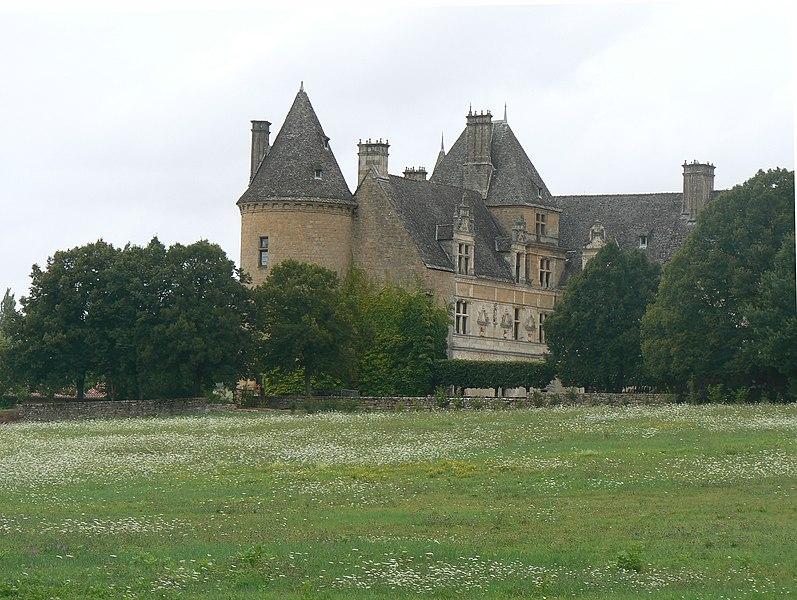 Photo du Monument Historique Domaine de Montal situé à Saint-Céré