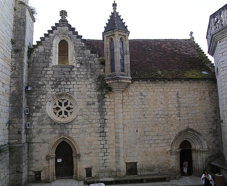 Photo du Monument Historique Chapelle Saint-Blaise situé à Rocamadour