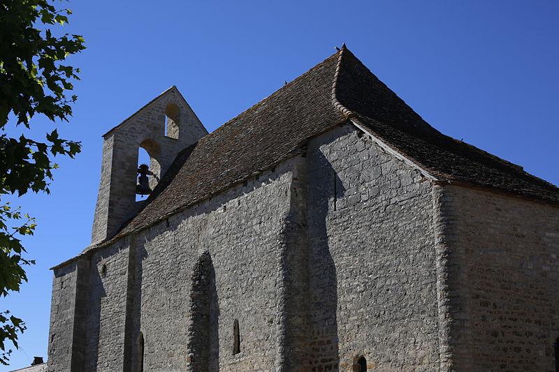 Photo du Monument Historique Eglise Saint-Martin de Mayrinhac-le-Francal situé à Rocamadour