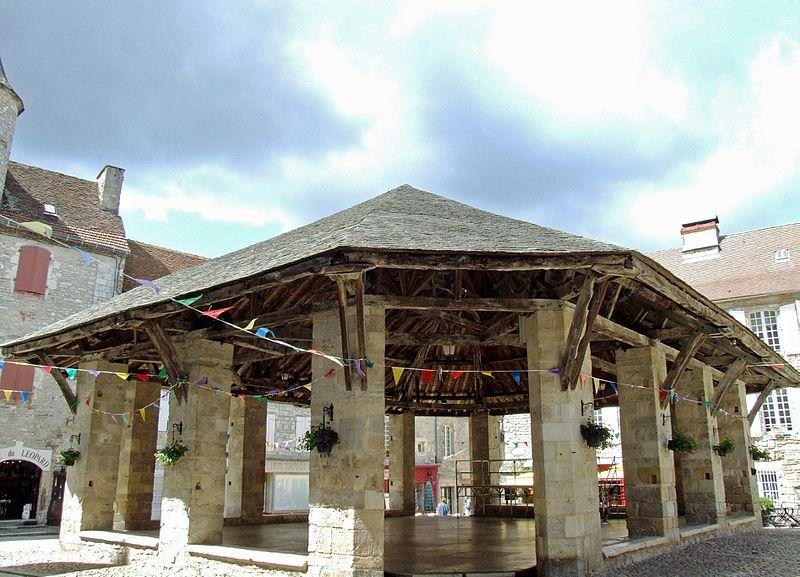 Photo du Monument Historique Halle situé à Martel
