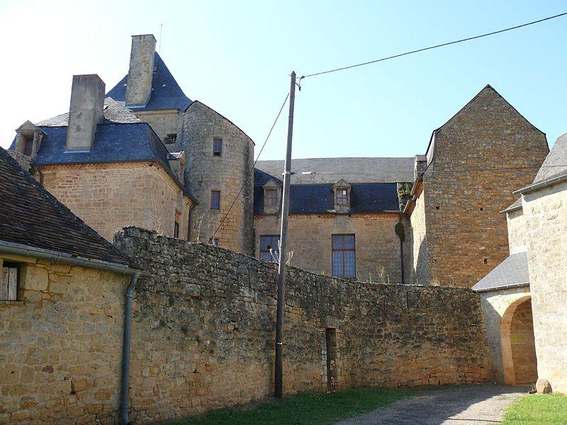 Photo du Monument Historique Château de Masclat situé à Masclat