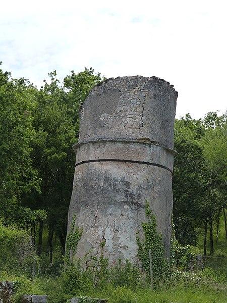 Photo du Monument Historique Pigeonnier de Bancourel situé à Saint-Cirq-Lapopie