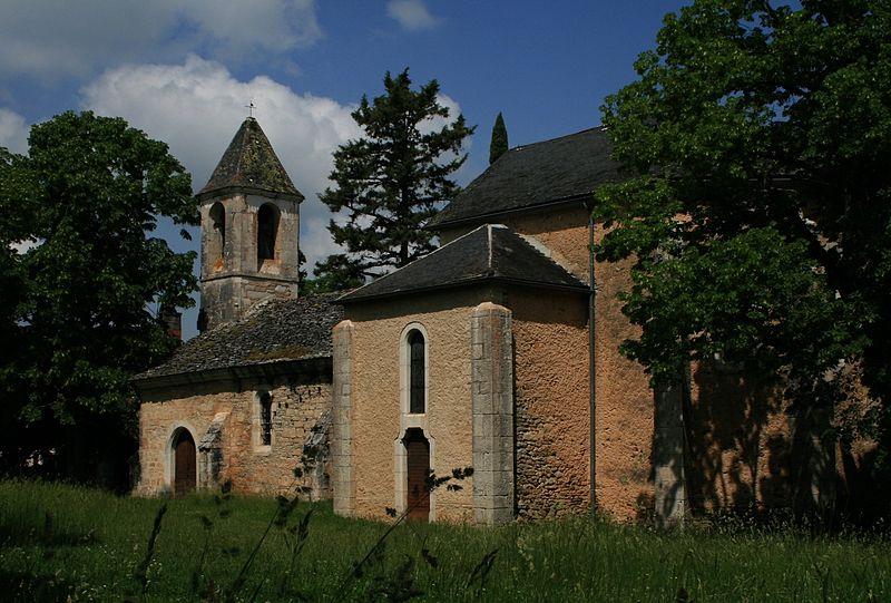 Photo du Monument Historique Eglise Saint-Cyr et Sainte-Julitte, ancienne chapelle du château de la Pannonie situé à Couzou