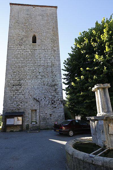 Photo du Monument Historique Tour de Floirac situé à Floirac