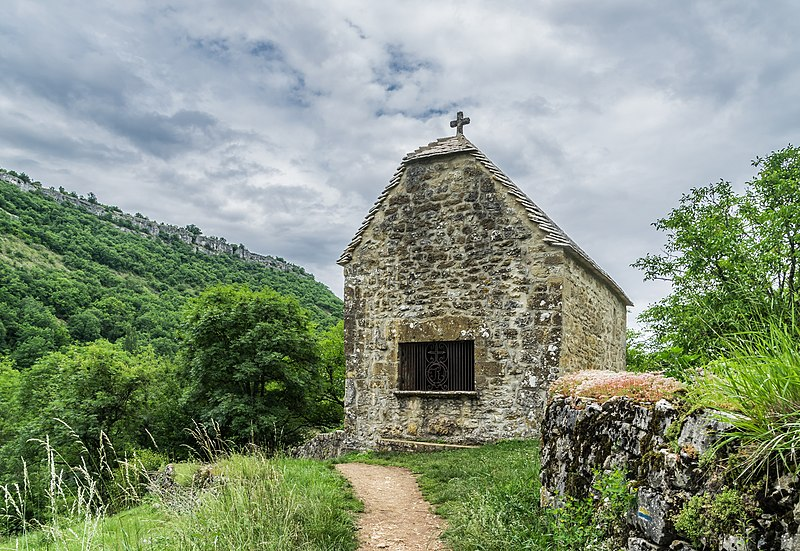 Photo du Monument Historique Chapelle Saint-Roch situé à Autoire