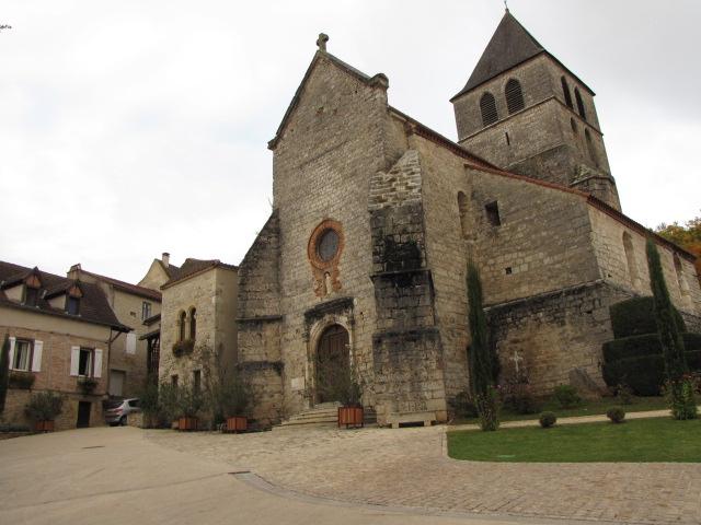 Photo du Monument Historique Eglise Saint-Vincent situé à Saint-Vincent-Rive-d'Olt