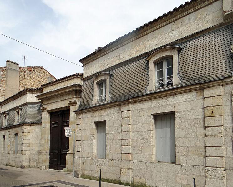 Photo du Monument Historique Hôtel d'Escouloubres situé à Agen