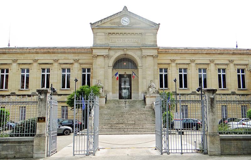 Photo du Monument Historique Palais de Justice situé à Agen
