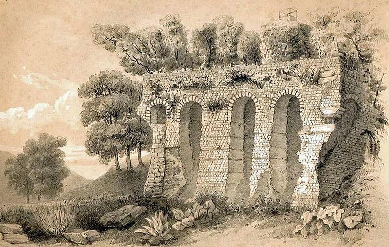 Photo du Monument Historique Structures antiques situé à Aiguillon