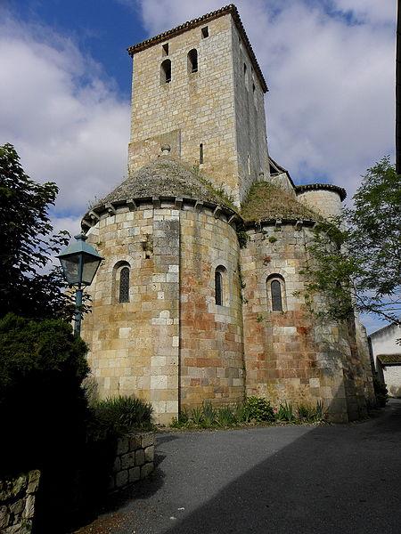 Photo du Monument Historique Eglise Sainte-Marie situé à Aubiac