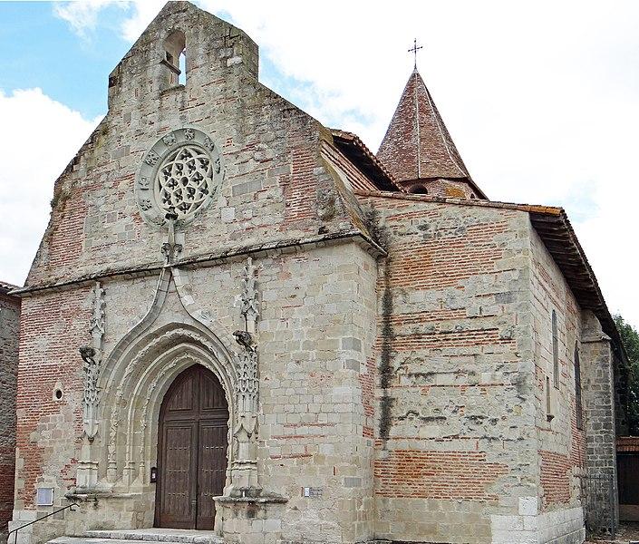 Photo du Monument Historique Eglise Saint-Pierre situé à Casseneuil