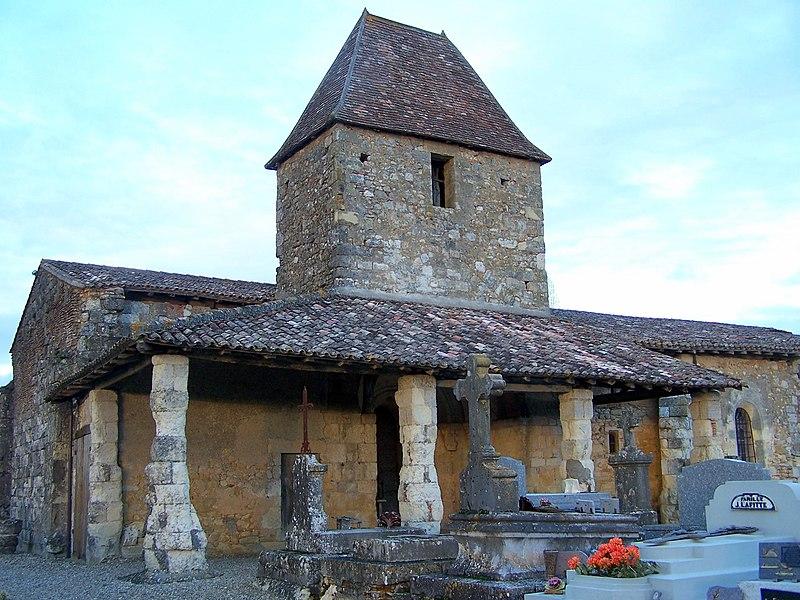 Photo du Monument Historique Eglise Saint-Jean de Vidailhac situé à Cocumont