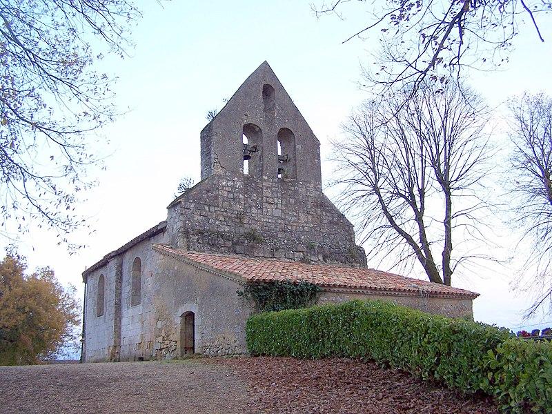 Photo du Monument Historique Eglise Saint-Martin de Goux situé à Cocumont
