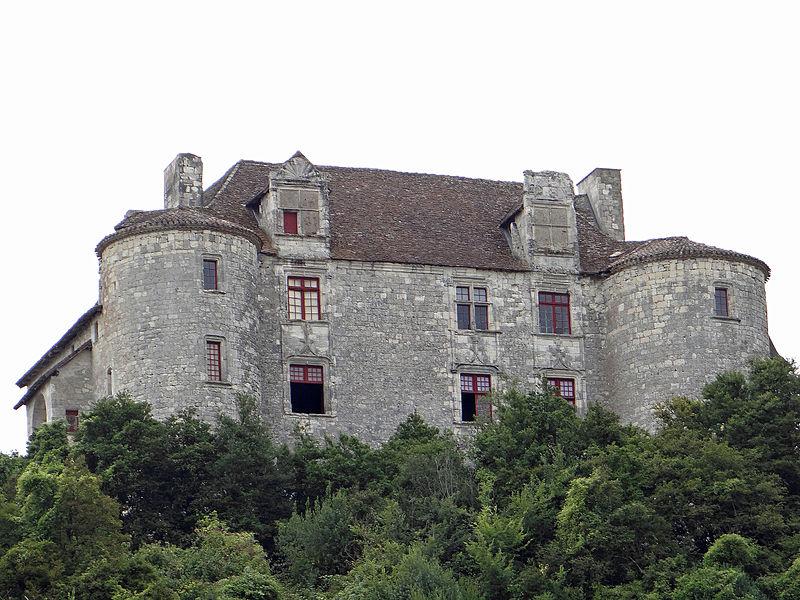 Photo du Monument Historique Château de Puycalvary situé à Dausse