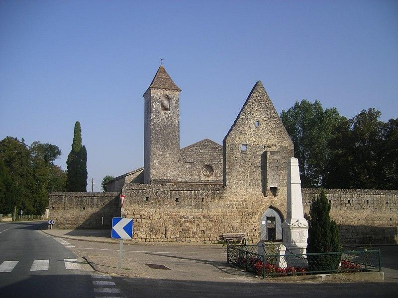 Photo du Monument Historique Eglise Saint-Cyr situé à Fargues-sur-Ourbise