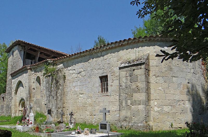 Photo du Monument Historique Eglise Sainte-Raffine de Gaujac situé à Frégimont