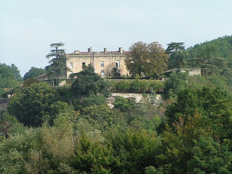 Photo du Monument Historique Château situé à Fumel