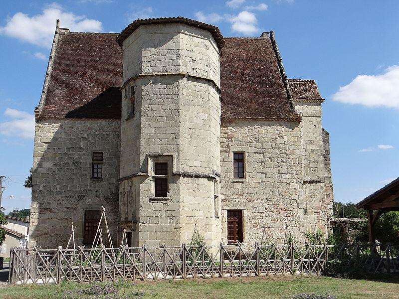 Photo du Monument Historique Château situé à Gontaud-de-Nogaret