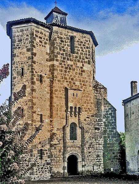 Photo du Monument Historique Eglise Notre-Dame situé à Houeillès