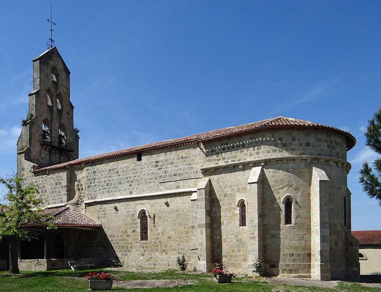 Photo du Monument Historique Eglise Sainte-Marie situé à Lannes