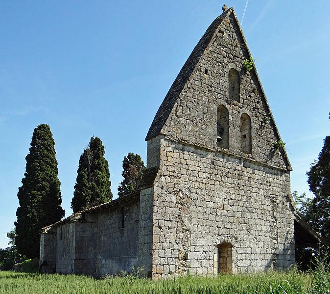 Photo du Monument Historique Eglise Saint-Jean-Baptiste de Cazeaux situé à Lannes