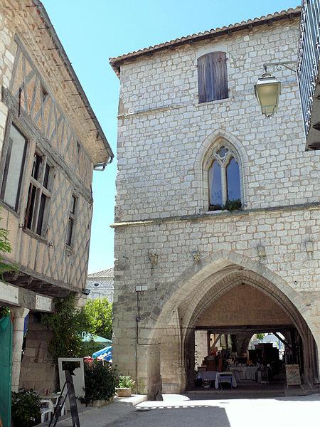 Photo du Monument Historique Maison dite du Prince Noir situé à Monflanquin