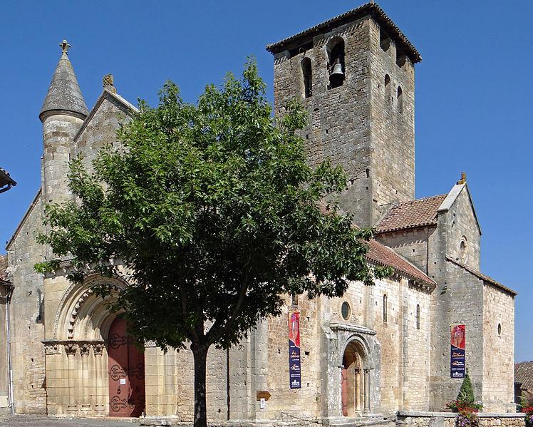 Photo du Monument Historique Eglise Saint-Géraud situé à Monsempron-Libos