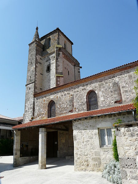 Photo du Monument Historique Eglise Notre-Dame situé à Montagnac-sur-Auvignon