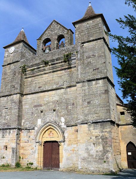 Photo du Monument Historique Eglise Saint-Martin situé à Montagnac-sur-Lède
