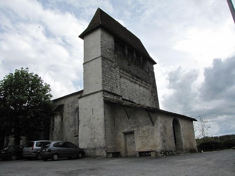 Photo du Monument Historique Eglise Saint-Pierre situé à Montaut